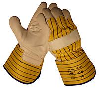 Handschoen Boxleder met palm- en duimversterking - 1
