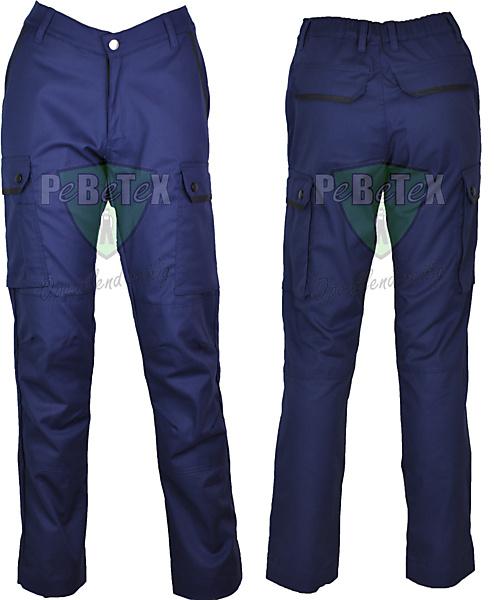 Pantalon worker dames doordraag - 1