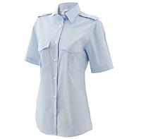 Pilotoverhemd dames Diane korte mouw - 1