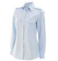 Pilotoverhemd dames Diane lange mouw - 1