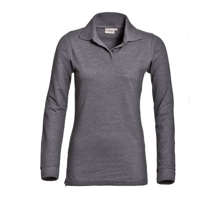 Poloshirt Matt Ladies lange mouw - 1