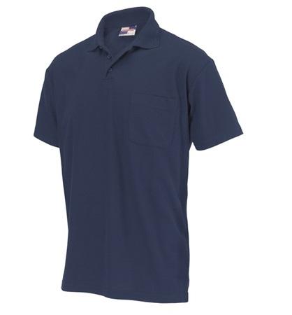 Poloshirt met borstzak - 1