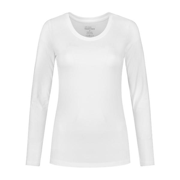 T-shirt Juna lange mouw dames - 1